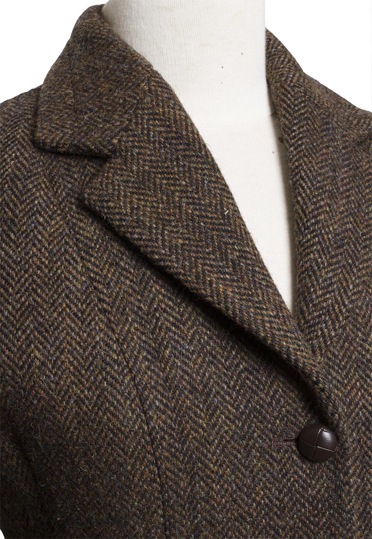 Harris Tweed Hacking Jacket Brown