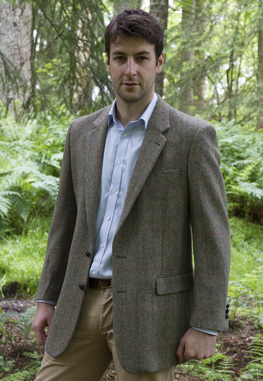 Taransay Harris Tweed Jacket